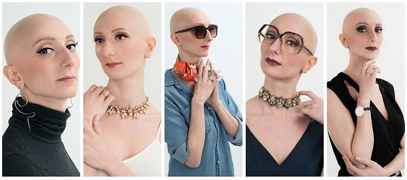 Adriana modella per Fashionbald!